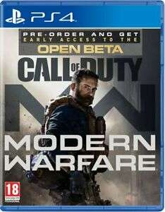Modern Warfare PS4 / Xbox One £38.36 delivered @ The Game Collection Outlet eBay with code