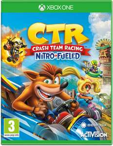 Crash Team Racing Nitro-Fueled Xbox One £20.76 / PS4 £23.96 / Nintendo Switch £24.78 delivered with code @ The Game Collection ebay