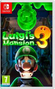 Luigi's Mansion 3 [Nintendo Switch] - Pre-Order. £36.76 with code @ Thegamecollection eBay Outlet (+ FREE KEYRING AND POSTER)