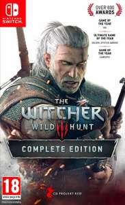 The Witcher 3 Wild Hunt Complete Edition for Switch - £37.48 delivered from the Game Collection Outlet on ebay