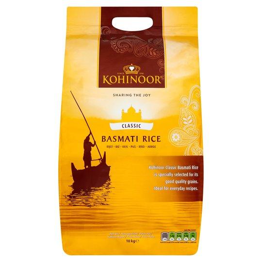 Kohinoor Classic Basmati Rice 10Kg £11 each @ Tesco online/instore