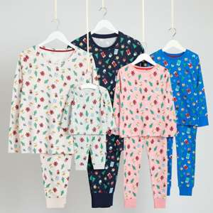 Matching family Xmas pjs lots of different designs starting from £5 @ Asda