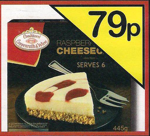 Raspberry Cheesecake 445g @ Farmfoods 79p