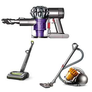 Sainsburys Sale on Dysons and GTech Cordless Vacuums  - e.g. Dyson V6 Trigger £50 (early leak)