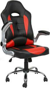 EG 210 Black and Red Gaming Chair - £51.98 delivered with code @ Ebuyer eBay