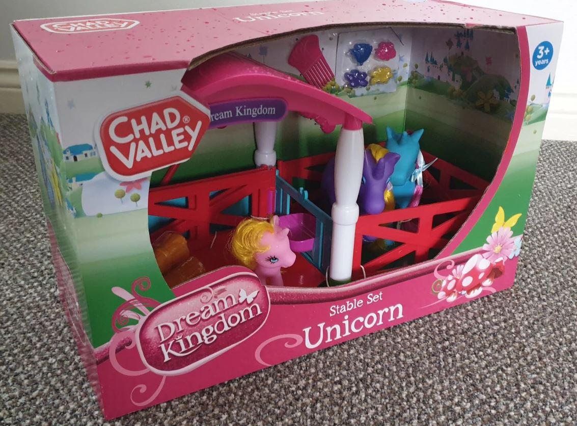 Stable Set Unicorn £2.50 at Sainsbury's Lincoln