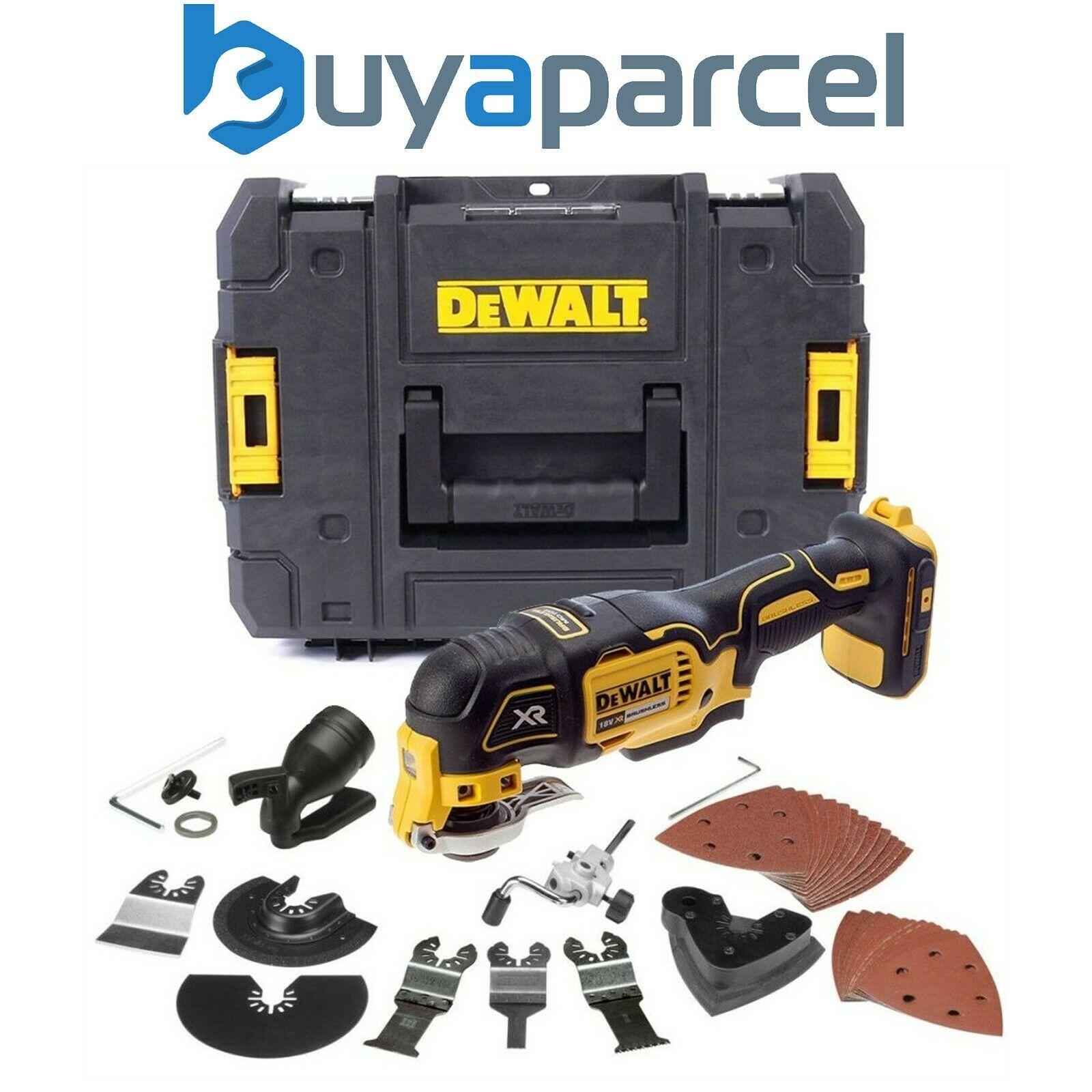 Dewalt DCS355N 18v XR Brushless Oscillating Multi Tool + 35 Accessories + Tstak - 20% to £127.99 @ Ebay  buyaparcel