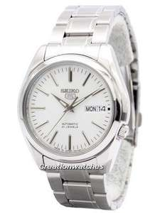 Seiko 5 Automatic 21 Jewels Japan Made SNKL41 SNKL41J1 SNKL41J Men's Watch £75 @ Creation Watches