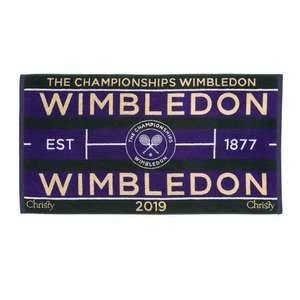 Christy Mens Wimbledon 2019 Towel £20 delivered