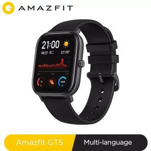Global Version NEW Xiaomi Amazfit GTS Smart Watch £111.18 @ amazfit Official Store/Aliexpress