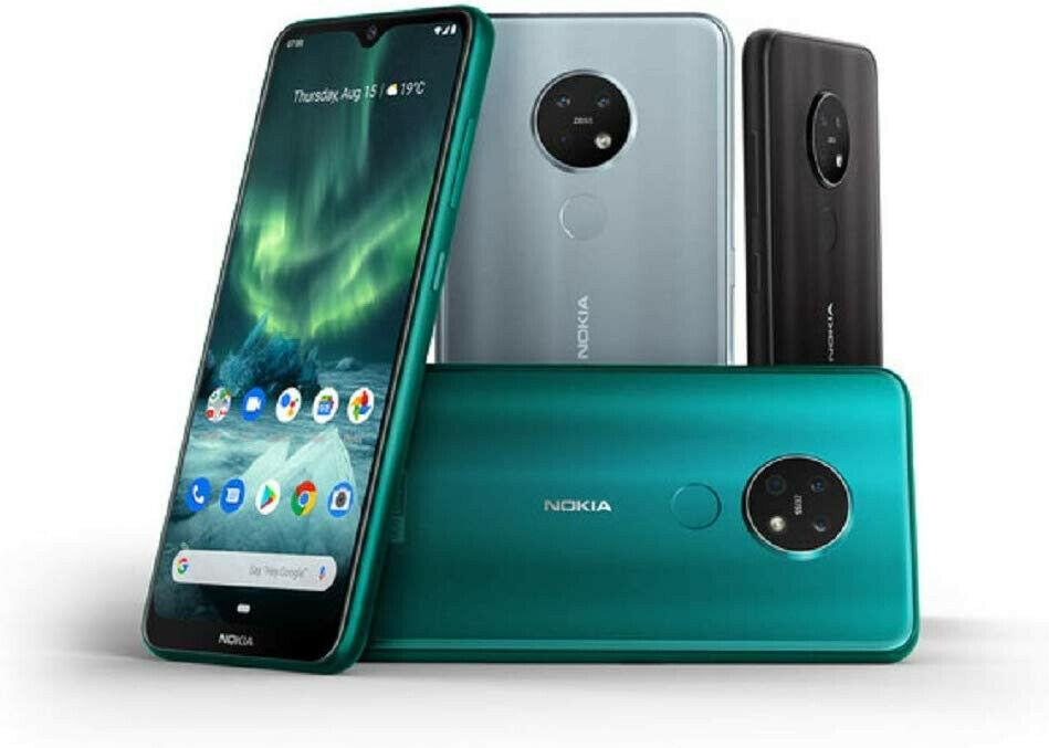 "New Nokia 7.2 (Dual SIM, NFC, 6.3""FHD+screen, 48MP triple camera,64GB/4GB) £199.99 using code @ Ebay / technolec"