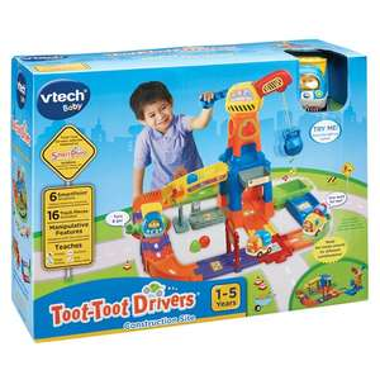 Vtech Toot Toot Crane set £17.50 @ Tesco