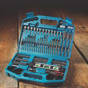 Makita Straight Shank Accessory Set 101 Pieces £16.49 @ Screwfix (free click and collect)