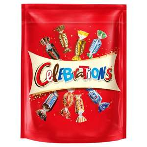 Celebrations Pouch, Dairy Milk/ Whole Nut / Mixed Chocolate Pouch, Toblerone Pouch £2.50 @ Tesco