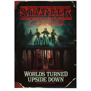 Stranger Things : Worlds Turned Upside Down Book only £10 at The Works - Click & Collect