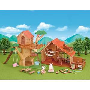 Sylvanian Families Tree House and Log Cabin Gift Set £49.99 at Smyths