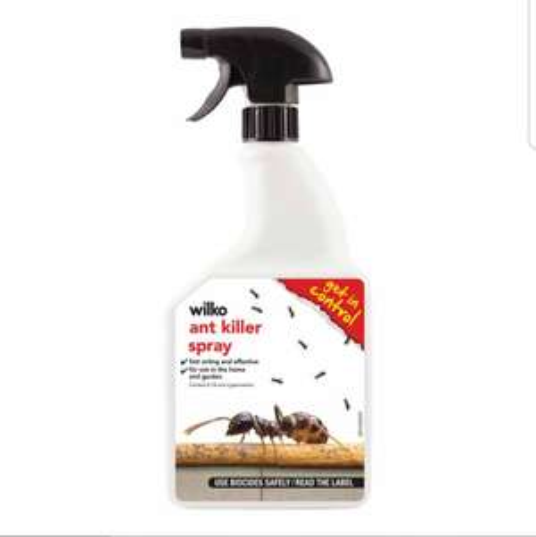 Wilko Ant Killer Sprays down from £2.75 to 20p instore at wilko .