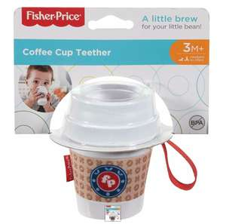 Fisher Price Coffee cup teether £1.20 @ Sainsbury's Birmingham