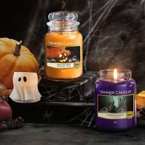 *BACK IN STOCK* Large Halloween Yankee Jars £12.00 Each W/Code @ Yankee Candle (+£2.95 P&P or Free on Orders Over £30)