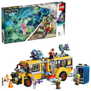 LEGO 70423 Hidden Side Paranormal Intercept Bus AR Games App, Interactive Augmented Reality Ghost Play set - £40.97 @ Amazon