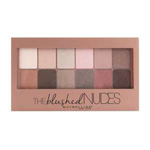 Maybelline The Blushed Nudes Eyeshadow Palette 9.6g £3.99 + £1.99 delivery @ Fragrance Direct