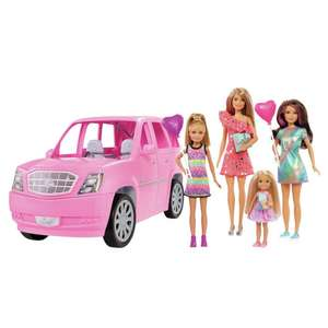 Barbie limo and 4 dolls £48 at Argos with code, with free click and collect