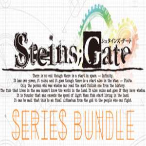 STEINS;GATE Series Bundle £36.62 on Steam discount offer