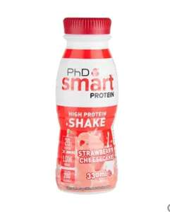 Bottled Protein Shake 330ml - Grenade/PHD 63p Clearance - Boots - Daventry