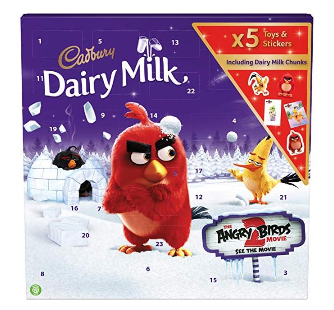Cadbury Dairy Milk Angry Birds Christmas Chocolate Advent Calendar 212g £1.15 amazon pantry -  minimum of £15 spend - / £3.99 del