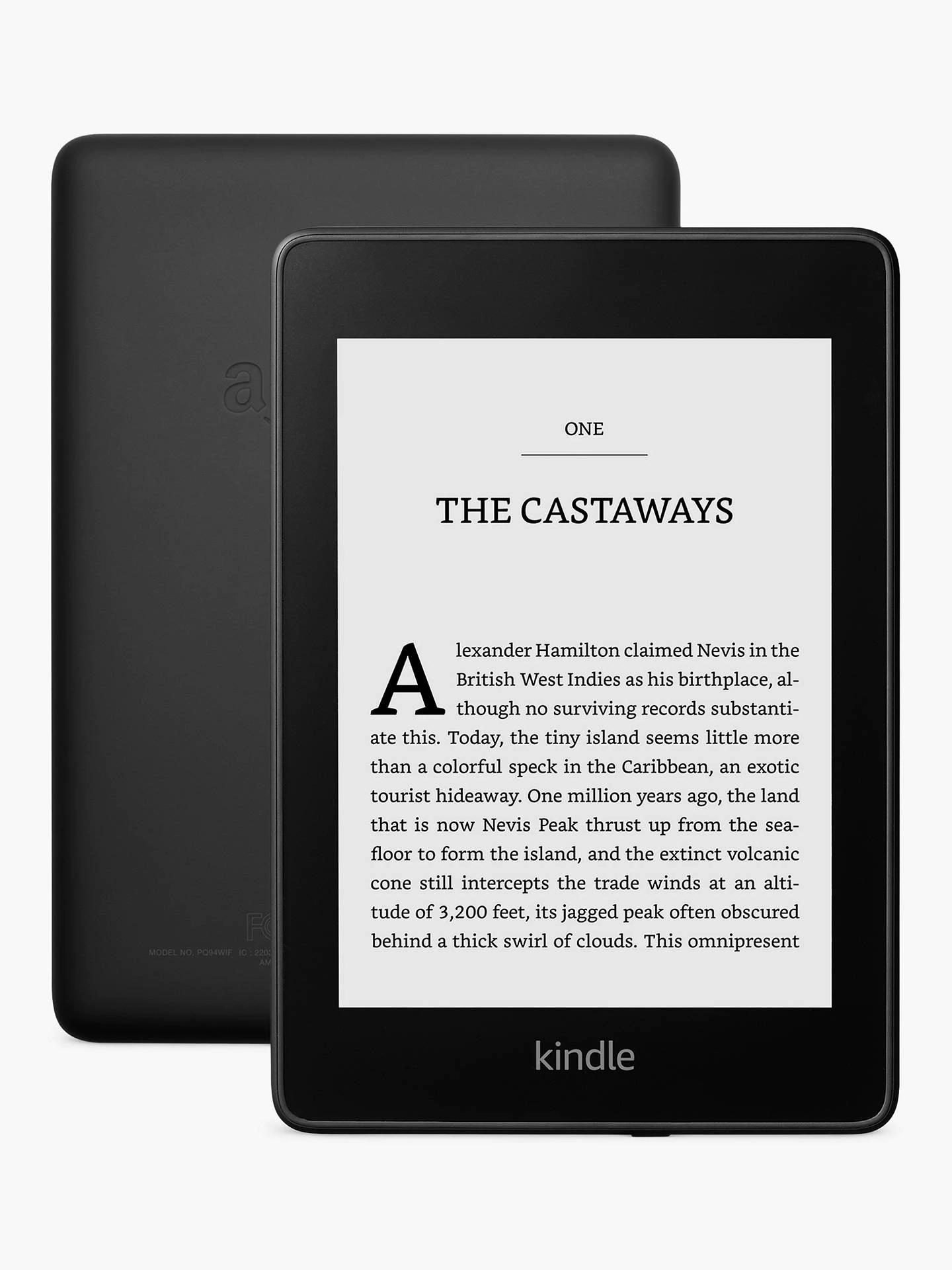 Paperwhite Kindle 8GB, 10th Gen £89.99 (2 Year Warranty) @ John Lewis & Partners