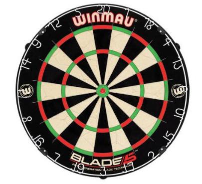 Winmau Blade 5 bristle dartboard £24.99 @ Argos
