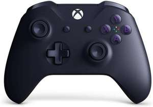 Xbox one wireless controller, purple - Fortnite Ed Inc Dark Vertex Outfit & 500 V-Bucks - £43.96 at the game collection eBay store