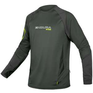 Endura MT500 Burner Long Sleeve Cycling Jersey in Khaki £23.99 delivered @ Tredz