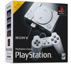 Sony PlayStation Classic (20 Pre-Loaded Games) £29.99 + £3.99 delivery at Clove Technology