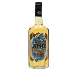 Lambs Spiced Rum £16 for 1L in store at Sainsbury's
