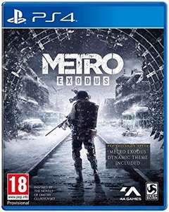 Metro Exodus (PS4) £18.99 delivered @ Base
