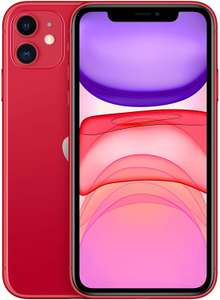 Apple iPhone 11 128GB A2223 Dual Sim Red or Black £636.49 / 64gb Red £617 @ Eglobal Central