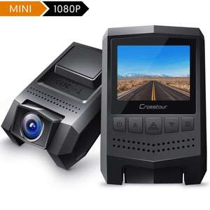 Crosstour CR250 Dash Cam £14.99 delivered using code Sold by Mars Elec and Fulfilled by Amazon.