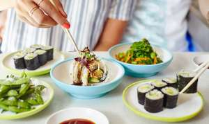 Kids eat for free @ Yo Sushi this October break.