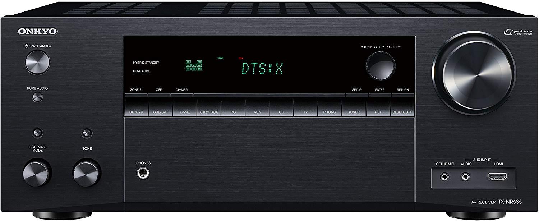 ONKYO TX-NR686 7.2 AV Reciever - 4K, HDR, Dolby Atmos, DTS-X, THX, Chromecast, Spotify @ Richer Sounds