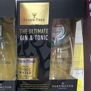 Fever Tree The Ultimate Gin & Tonic Gift set £4.88 instore at Sainsbury's