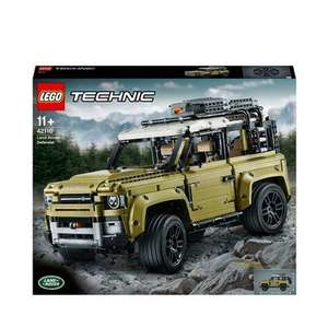 Loads of Lego 20% off at Debenhams including the Land Rover Defender 42110 for £128 + free delivery