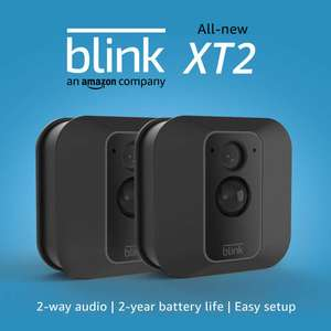 2 Camera System Blink XT2 | Outdoor/Indoor Smart Security Camera with Cloud Storage £139.99 @ Amazon