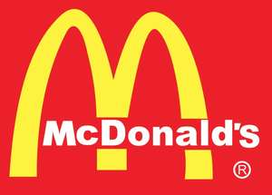 McDonald's vouchers in free Metro newspaper - burger/sandwich and fries or salad for £1.99 - vouchers on page 9