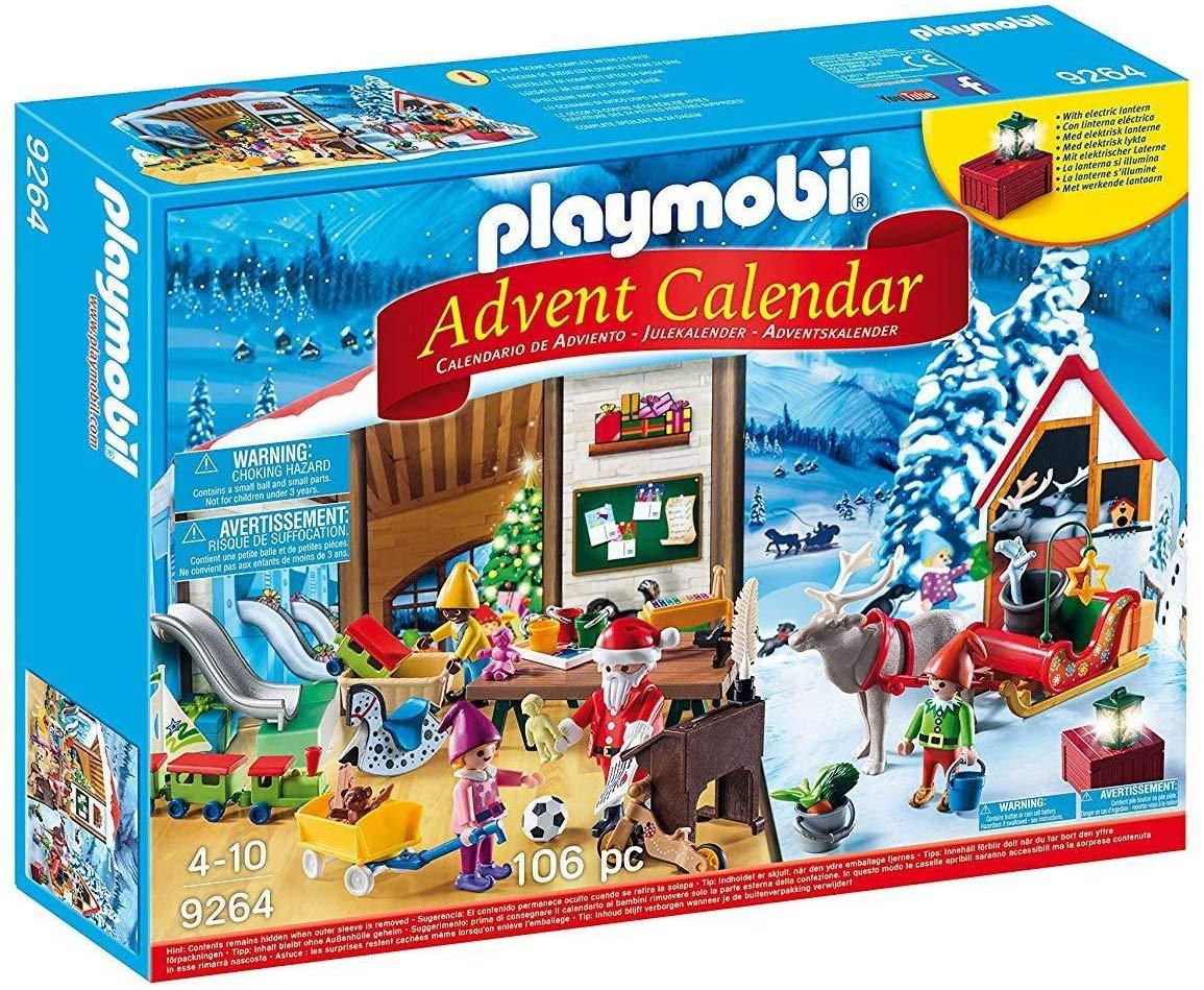 Playmobil 9264 Advent Calendar 'Santa's Workshop' with Electronic Lantern £15.99 (Prime) / £20.48 (non Prime) at Amazon