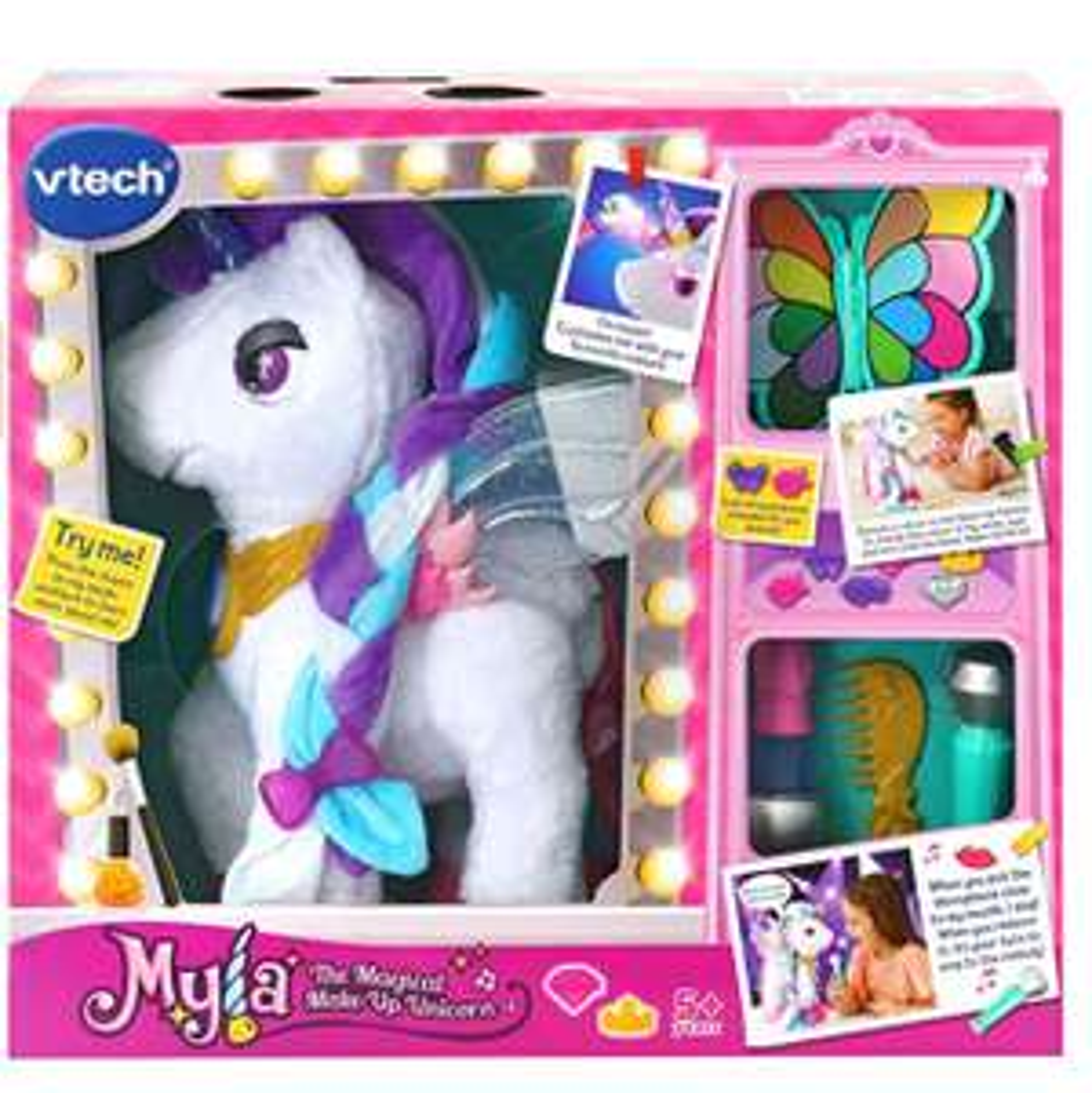 VTech Myla The Magical Make-Up Unicorn  £30.49 @ Amazon