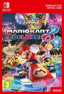 Mario Kart 8 Deluxe (Digital) + 12 Months NSO Family Plan (worth £24.85) for £49.85 @ Shopto