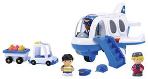Chad Valley Tots Town Aeroplane Set @ Argos Free C&C £10 With Code Provided