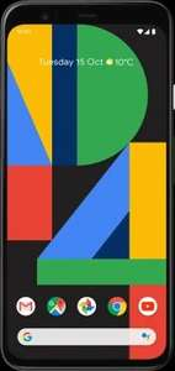 12GB O2 Data - Google Pixel 4 64GB (Free Chromebook) - £29pm + £165 Upfront - £861 total using code @ E2Save