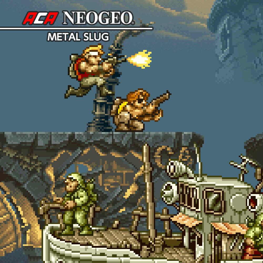 ACA NEOGEO METAL SLUG (Nintendo Switch) £3.14 @ Nintendo eShop (other ACA NEO GEO games also on sale inside)
